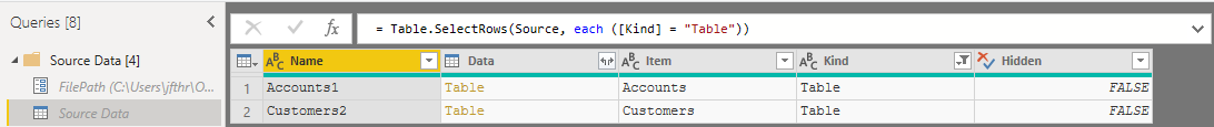 Excel Connection
